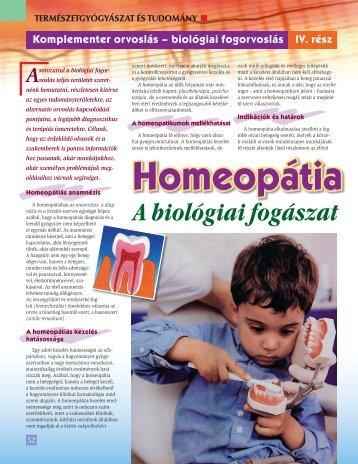 A biológiai fogászat alappillére - BioDent