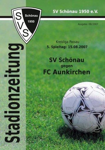 FC Aunkirchen k - SV Schönau