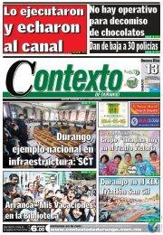 13/07/2013 - Contexto de Durango