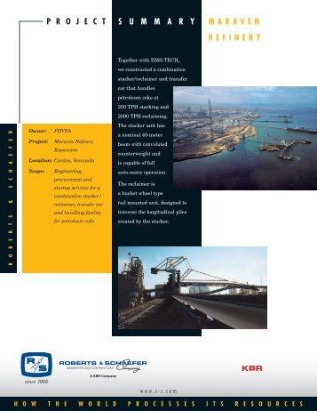 Download PDF - Roberts & Schaefer Company