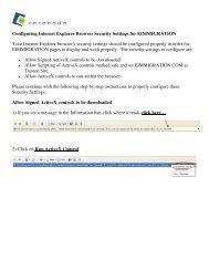 Configuring Internet Explorer Browser Security Settings ... - Cerenade