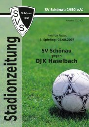 DJK Haselbach k - SV Schönau