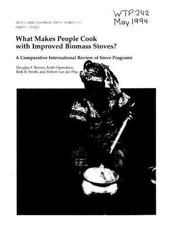 What Makes People Cook with Improved Biomass Stoves?