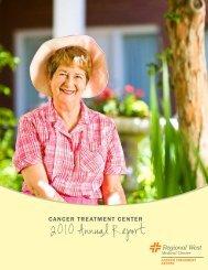 2010 Annual Report - Regional West Medical Center