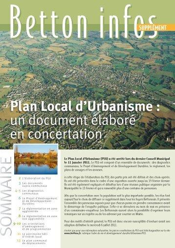 Plan de classement centre de documentation de l 39 urbanisme for Plan betton