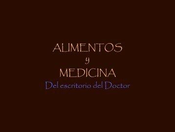 Alimentos y Medicina