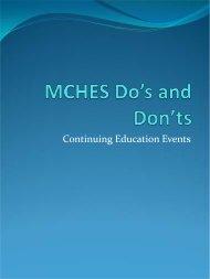 Presentation Slides - Society for Public Health Education