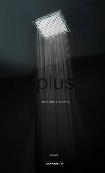 Teknobili Plus Showers Brochure | Reece Bathrooms