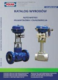 Katalog produktów: Automatyka przemysłowa i ... - Polna S.A.