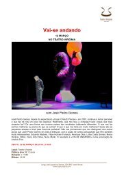 press release_vai-se andando - Teatro Virgínia