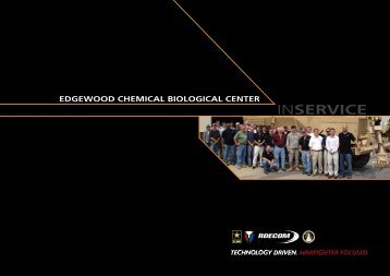 Annual Report - Edgewood Chemical Biological Center - U.S. Army