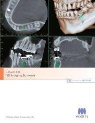 i-Dixel 2.0 3D Imaging Software - Morita