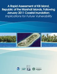A Rapid Assessment of Kili Island - Sea Grant College Program