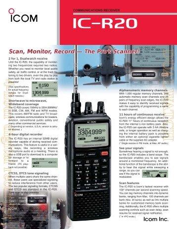 iC- r20 - ICOM Canada