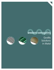 Production Information - Western Corrugating