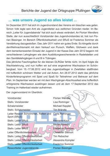 DLRG_Heft_2012 Homepage.indd - Pfullingen - DLRG