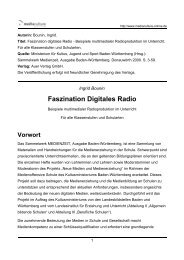 Ingrid Bounin: Faszination Digitales Radio - Mediaculture online