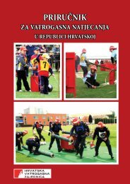 Prirucnik za vatrogasna natjecanja RH 2012