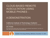a demonstration - Caltech Center for Advanced Computing Research