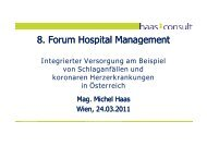 Vortrag Mag. Michael Haas - Vinzenz Gruppe