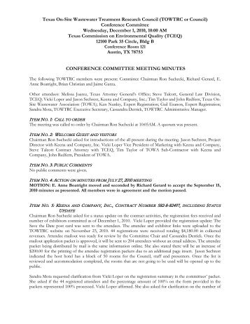12-1-10 meeting minutes final.pdf - Texas Onsite Wastewater ...