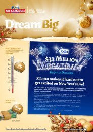 Issue 28 - December 2010 - SA Lotteries