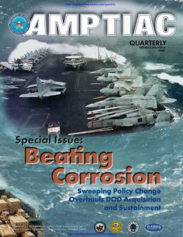 General Accounting Office Oversees DOD Corrosion Prevention and ...