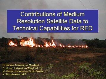Contribution from medium resolution analysis