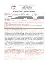 MET Protocal Example - Ann Arbor Public Schools