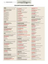 Guia de filiais e distribuidores - Supermercado Moderno