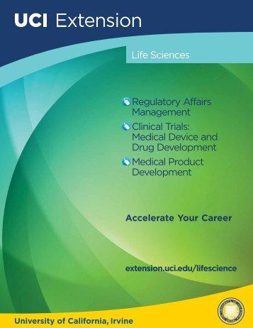 Life Sciences Brochure - UC Irvine Extension - University of ...