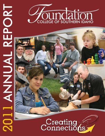 2011 Annual Report.indd - College of Southern Idaho
