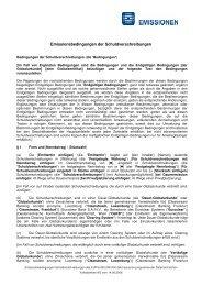 Endgültige Bedingungen Schuldverschreibungen ... - Volksbank