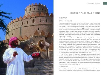HISTORY AND TRADITIONS - UAE Interact