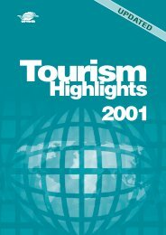 2001 Tourism Statistics