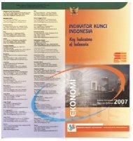 Booklet Indikator Kunci Indonesia - Badan Pusat Statistik