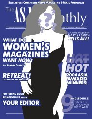 June 2004 - The ASJA Monthly