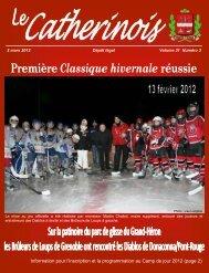 Mars 2012 - Ville de Sainte-Catherine-de-la-Jacques-Cartier