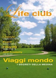 GOLF - lifeclubmagazine.com