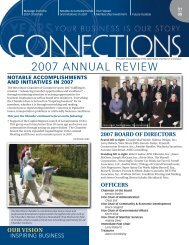 2007 ANNUAL REVIEW - West Shore Chamber of Commerce