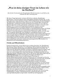 gesamtkirchlicher Relevanz - Evangelische Kirche Wien
