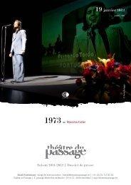 19 janvier 2012 - Théâtre du Passage