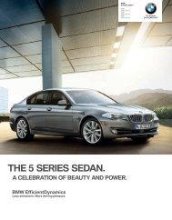 THE  SERIES SEDAN. - Irvine BMW