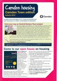 Camden housing - Curnock Street Estate