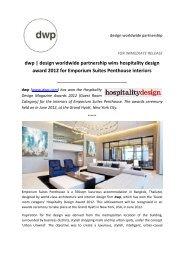 Emporium Suites Penthouse interiors - dwp