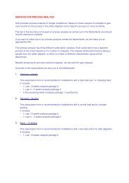 Information proces analysis - HoSt