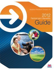 2012 Retirement Benefits Guide - myMPCbenefits.com