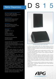 Télécharger la fiche produit DS15 - APG