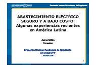 Abastecimiento eléctrico seguro y a bajo costo - Universidad EAFIT