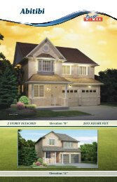 Abitibi - Pratt New Homes Innisfil